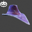 Halloween | Biohazard Hat | Purple