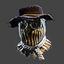 Halloween | Strawman Mask | Tan