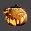 Halloween | Pumpkin Mask | Orange