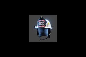 Firefighter Helmet White