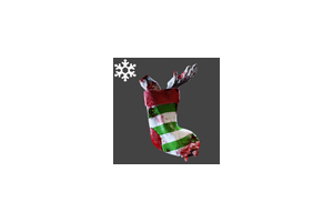 Christmas Gore Stocking Backpack Green