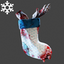 Christmas | Gore Stocking Backpack | Blue