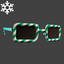 Christmas | Candyvision Glasses | Green