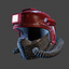 Deepstrike Helmet Mask   Red