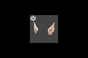 Christmas Elf Ears Flesh