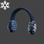 Christmas | Ear Muffs | Black