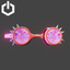 Cyber Rave | Spiked Glasses | Pink