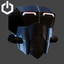 Cyberpunk | Eye and Facemask | Jet Black