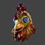 Commando Chicken Helmet