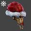 Christmas | Krampus Mask | Red