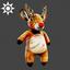 Christmas | Reindeer Backpack | Brown