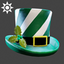 Christmas | Top Hat | Green