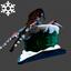 Christmas | Chimney Hat | Green Brick