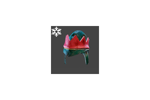 Christmas Alpha Hat Green