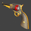 1858 Revolver   Dragon & Koi   Precious