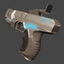 HMTech-101 Pistol | Carbon Fiber | Field-Tested