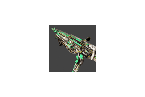 Hmtech 401 Assault Rifle Horzine Elite Green Battle Scarred