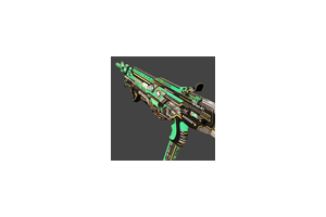 Hmtech 401 Assault Rifle Horzine Elite Green Mint