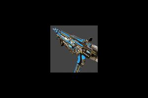 Hmtech 401 Assault Rifle Horzine Elite Blue Mint