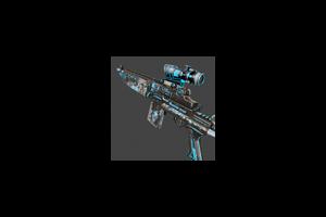 M14ebr Neon Battle Scarred