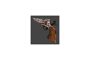 1858 Revolver Blood Camo Mint