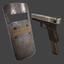 Riot Shield and G18   Standard   Precious