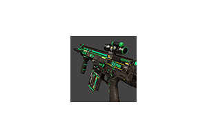 Scar Horzine Elite Green Battle Scarred