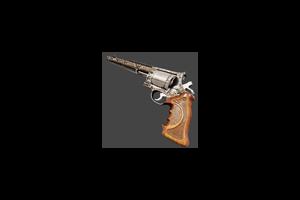 500 Magnum Revolver Snakeskin Battle Scarred