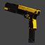 Single & Dual Glock 18C   Bumblebee   Precious