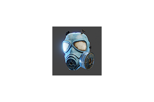Us Gas Mask Blue