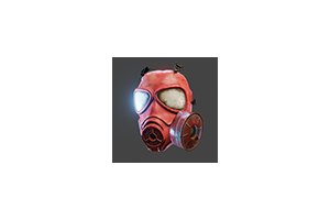 Us Gas Mask Red