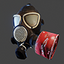 Russian Gas Mask PMK-2 | Red