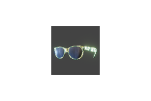 Retro Sunglasses Camo