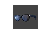 Retro Sunglasses | Black