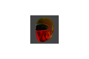 Ski Mask Flames
