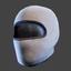 Ski Mask | White Black
