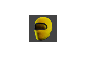 Ski Mask Yellow Black