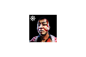 Sideshow Face Paint Tanaka