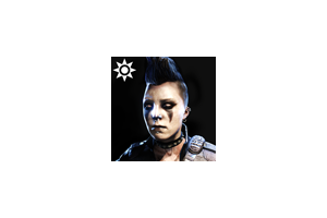 Sideshow Face Paint Ana