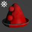 Sideshow Clown Hat | Red Black