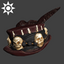 Sideshow Witch-doctor Hat | Brown
