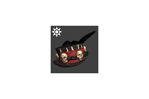 Sideshow Witch Doctor Hat Red