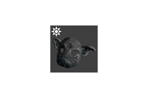 Sideshow Pig Mask Grey