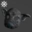 Sideshow Pig Mask | Grey