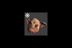 Sideshow Pig Mask Piglet