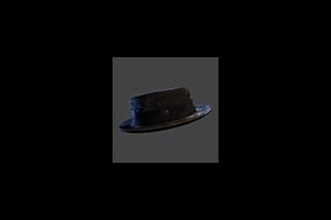 Porkpie Hat Black