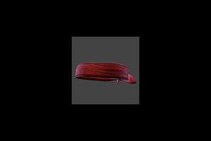 Headband Red Black