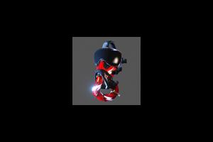 Flight Mask Crimson