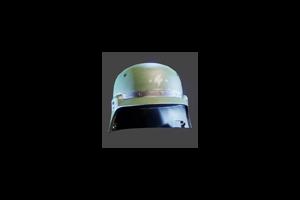 Enforcer Helmet Green Coat