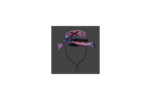 Boonie Cap Red Tiger